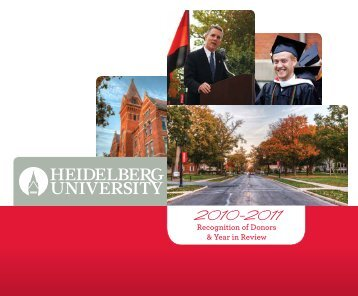 View the Recognition of Donors - Heidelberg University