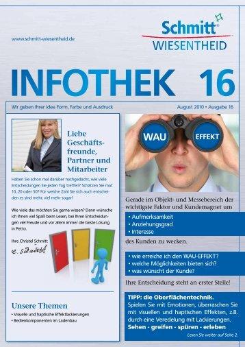 Infothek August 2010 • Ausgabe 16 - Schmitt Wiesentheid