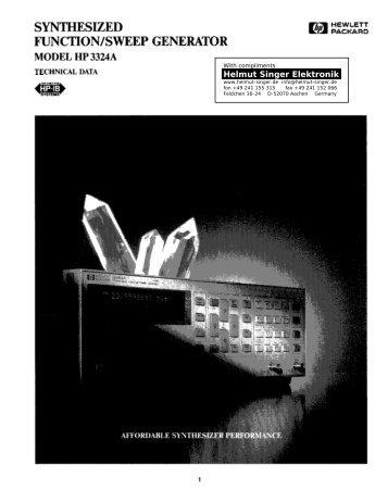 Helmut Singer Elektronik