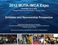 Exhibitor Prospectus - Waterjet Technology Association