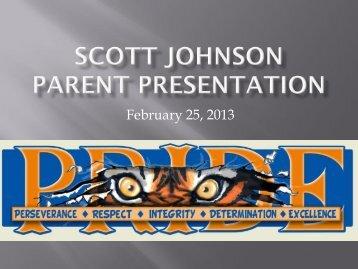 Evans Middle School Parent Presentation