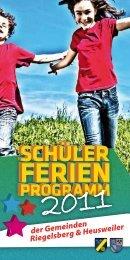 der Gemeinden Riegelsberg & Heusweiler  - Gemeinde Heusweiler