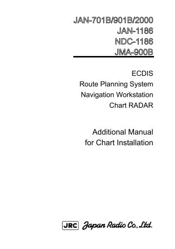 Additional Manual for Chart Installation - JRC Europe - Home