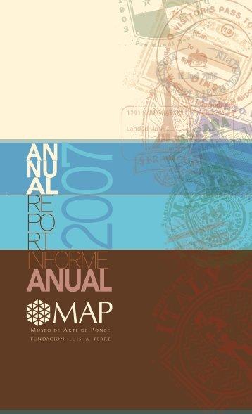 Informe Anual, 2007 - Museo de Arte de Ponce