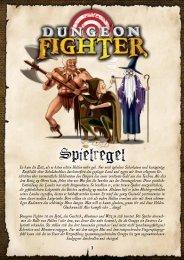 Dungeon Fighter Spielregel DEUTSCH - Heidelberger Spieleverlag