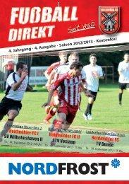 Heft 4 Saison 2012/13  - Fußballabteilung