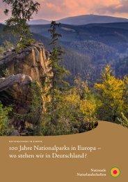 100 Jahre Nationalparks in Europa - EUROPARC Deutschland eV