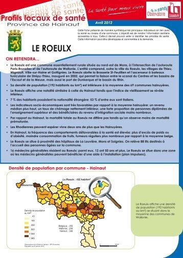 LE ROEULX - La Province de Hainaut