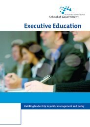 Managing Risks to Integrity in the Public Sector - Australia and New ...