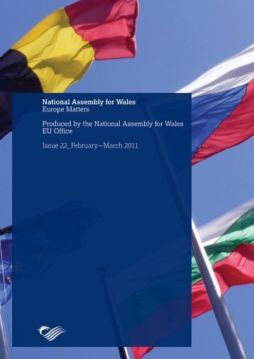 Europe Matters, Issue 22 - National Assembly for Wales