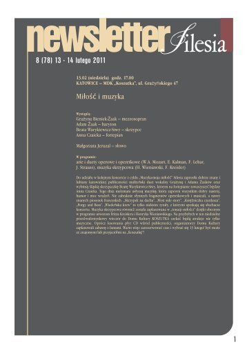 8 (78) 13 - 14 lutego 2011 1 - Silesia
