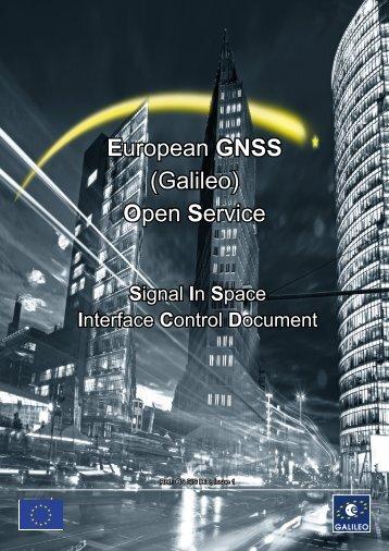 Galileo OS SIS ICD.indd - GSA - Europa