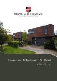 Prinses van Polenstraat 10 | Bavel - Schonck, Schul & Compagnie