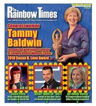 April 1, 2010 - The Rainbow Times