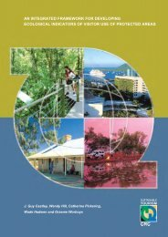An integrated framework for developing ecological indicators