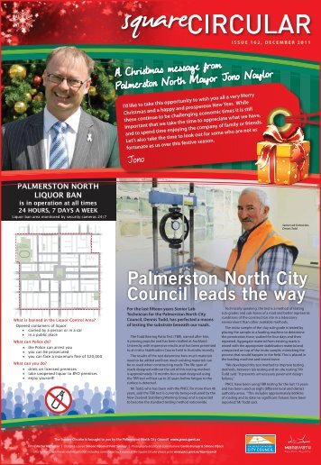 Palmerston North City Council leads the way