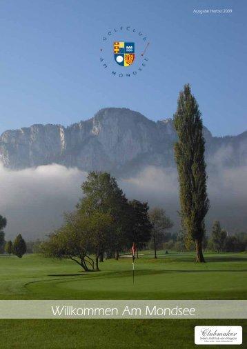 Club Magazin Ausgabe 2 2009 - Golfclub Mondsee