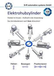 Elektrohubzylinder - S+R automation systems GmbH