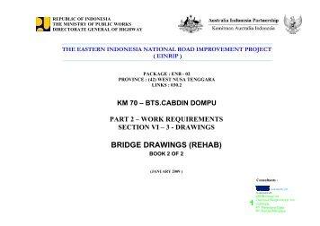 BRIDGE DRAWINGS (REHAB) - Pmueinrip-binamarga.com