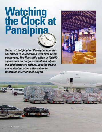 Today, airfreight giant Panalpina operates 480 offices in 75 ...