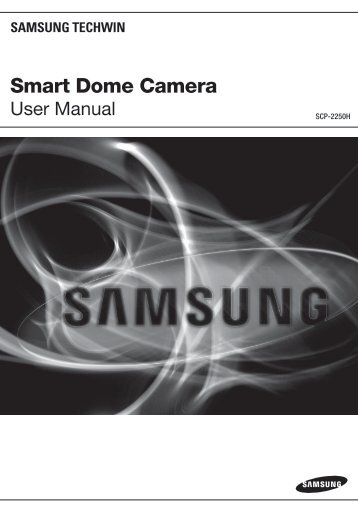 Smart Dome Camera - DOMUSWIRE