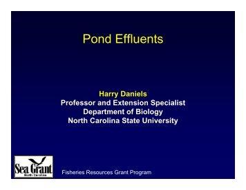 Pond Effluents - NCAquaculture.org