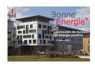 Bureaux sur la ZAC de Bonne - Ministère du Développement durable