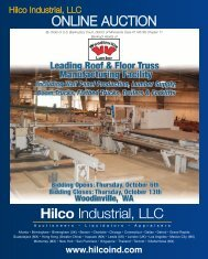2004 2006 2006 2006 2004 - Hilco Industrial