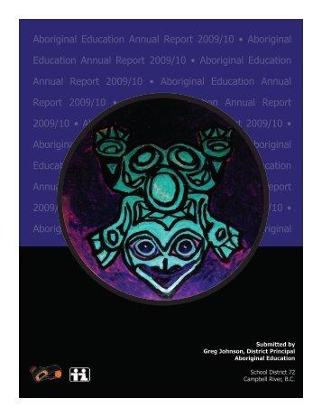 Aboriginal Education Annual Report 2009/10 • Aboriginal Education ...