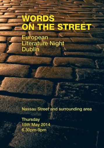 words on the street programme 2014