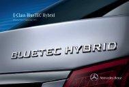 E-Class BlueTEC Hybrid - Mercedes-Benz UK