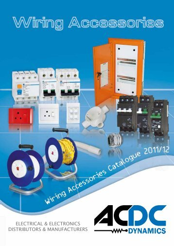 Wiring Accessories Sf Low Respdf Acdc Dynamics