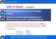 AQUA-Selekt DE Präsentation