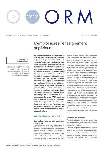 memo n°27.qxp - CNRS