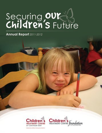 2011-12 Joint Annual Report - Children's Treatment Centre ...