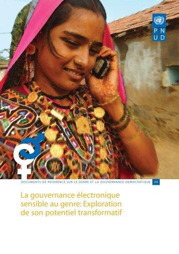 français - PNUD au Mali