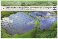 ニカラグアソーラーパークのパンフレットはこちらから(PDF/4.6MB)