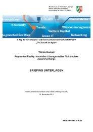 BRIEFING UNTERLAGEN - MCC-Mobile Communication Cluster