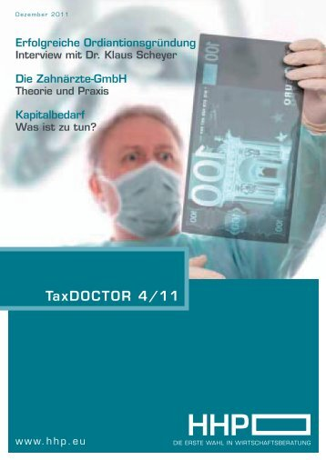 TaxDOCTOR 4/11 - HHP