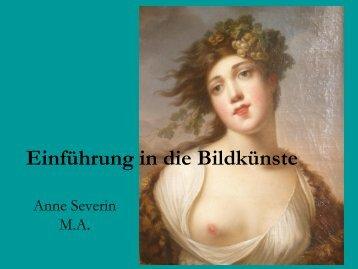 Einführung in die Bildkünste - Heilbad Heiligenstadt