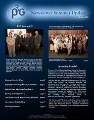 Newsletter August 2007 - P3G