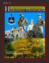 Buffalo Soldiers at Huachuca, Part II - Fort Huachuca - U S  Army