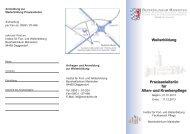 Weiterbildung Praxisanleiter/in für Alten- und Krankenpflege