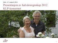Q2/2012 - KLP