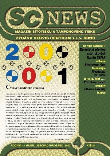 SC 2000 / 4 - SERVIS CENTRUM