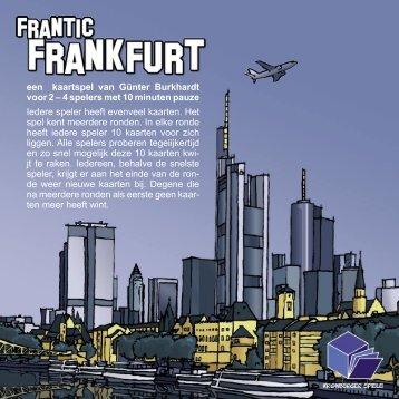 een kaartspel van Günter Burkhardt voor 2 – 4 ... - Forum Mortsel
