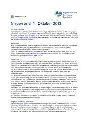 U kunt hier de InterRAI nieuwsbrief nr. 1, april 2012 lezen - EFP