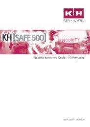 Elektroakustisches Notfall-Warnsystem - Klein + Hummel