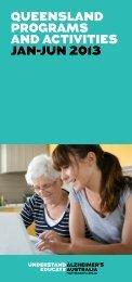 Queensland Programs and Activities - Alzheimer's Australia