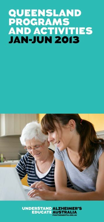 Queensland Programs and Activities - Alzheimer's Australia